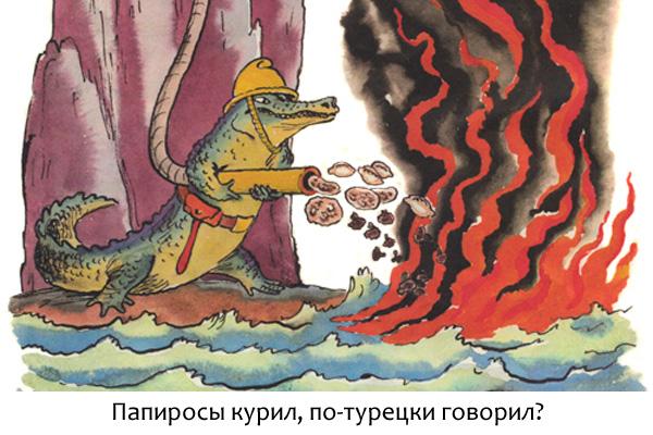 Блог Орфограммки. Крокодил-грибник