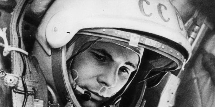 Юрий Гагарин. Первый человек в космосе!