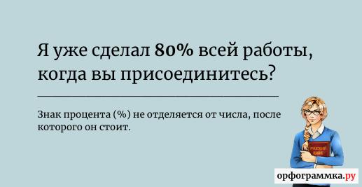 знак-процента-пробел